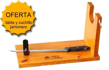 Ofertas de jam n ib rico de jabugo - Tabla de cuchillos ...